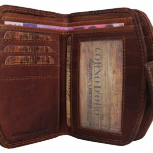 duży portfel skórzany dla kobiety