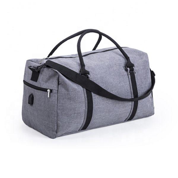 torba materiałowa podróżna z USB