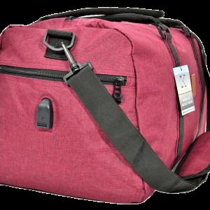 torba podróżna z USB