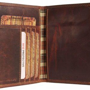 organizer skórzany portfel