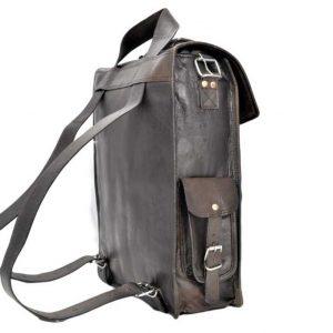 mocny plecak skórzany dla wykładowcy
