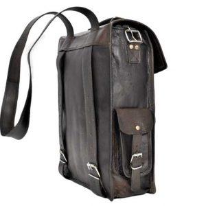 plecak skórzany do noszenia na ramieniu