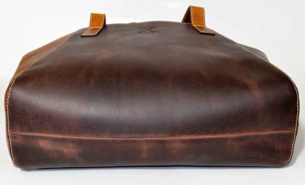 bardzo duża torebka dla kobiet brązowa na każdą okazję