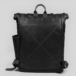 pojemny plecak skórzany typu worek