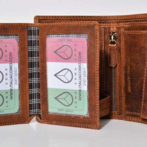 pojemny portfel skórzany męski