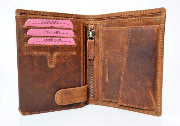 męski portfel ze skóry COMO