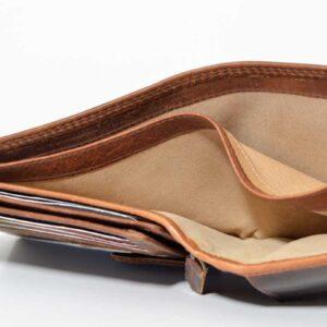 eleganckie wykończenie portfela
