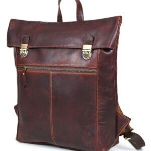 plecak ze skóry brązowy Vintage
